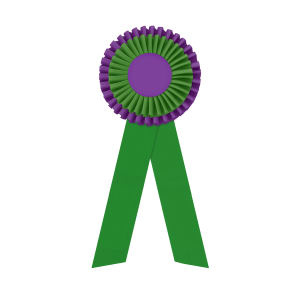 Promotional Award Ribbons-R2O-512LR