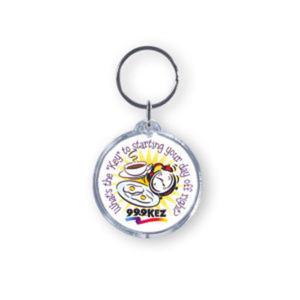 Promotional Plastic Keychains-BL-1250