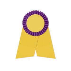 Promotional Award Ribbons-RO-25452LR