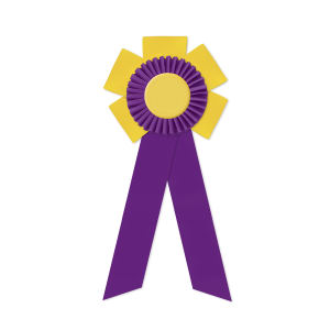 Promotional Award Ribbons-ROF-5512LR