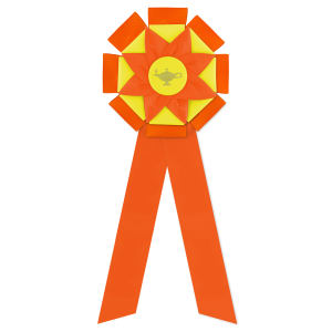 Promotional Award Ribbons-R2FF-615LR