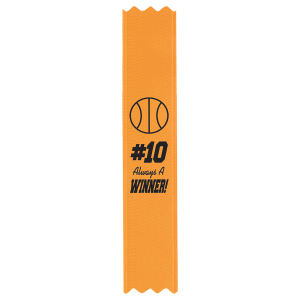 Premium grade custom ribbon