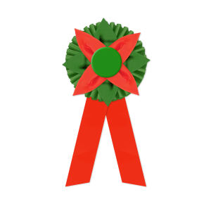 Promotional Award Ribbons-RO2F-612LR