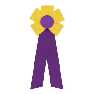 Promotional Award Ribbons-RF-512LR