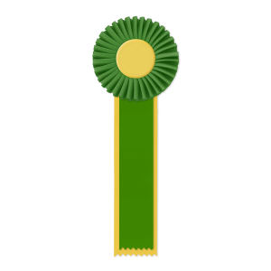 Promotional Award Ribbons-RO-411M2