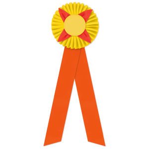 Promotional Award Ribbons-ROF-515LR
