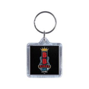 Promotional Plastic Keychains-BL-1220F