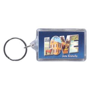 Promotional Plastic Keychains-BL-1230F