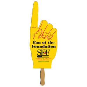 Big finger shape fan,