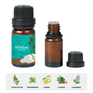 Pure essential oils coming