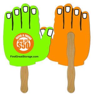 Hand shape fast fan