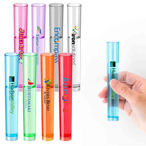 Customizable 2 ounce translucent
