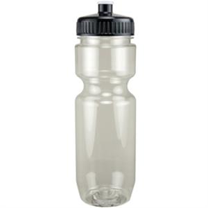 Translucent sport bottle with