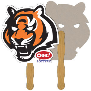 Tiger shaped fan is