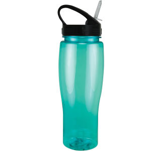 Translucent sports bottle with