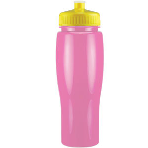 Solid contour sports bottle,