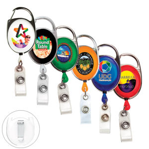 Promotional Retractable Badge Holders-RBRCA4