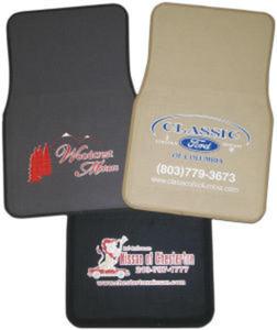 Promotional Auto Dealer Necessities-FeltCarMat