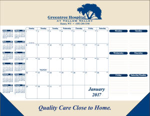 Promotional Desk Calendars-7016