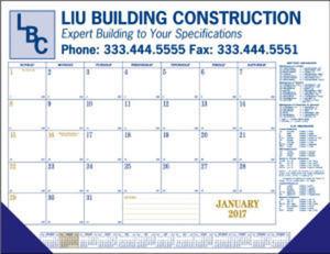 Promotional Desk Calendars-8014
