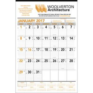 Small contractor calendar.