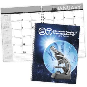 Standard year desk planner