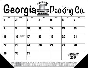 Promotional Calendar Pads-9012 solid