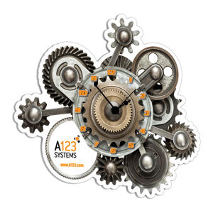 Promotional Wall Clocks-CLKCUS