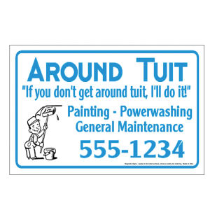 Promotional Sign & Auto Magnets-MGSCCAR