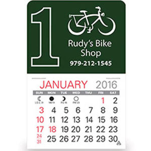Promotional Stick-Up Calendars-D563