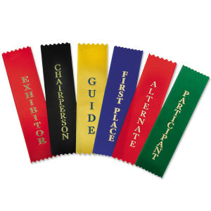 Promotional Award Ribbons-