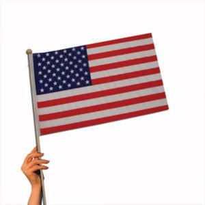 American flag, blank.
