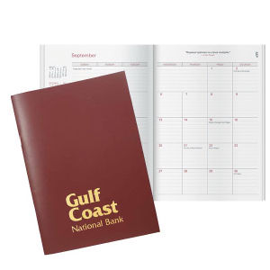 Deluxe planner with durable