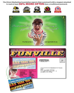Promotional Business Card Magnets-2822003