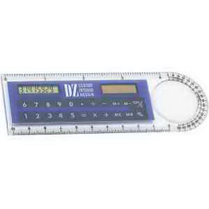 Multifunction ruler with magnifier