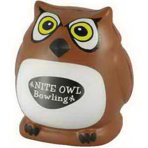 Owl shape stress reliever.