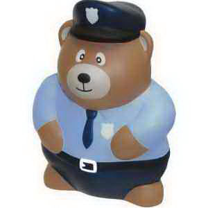 Police bear shape stress