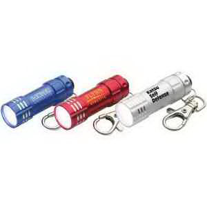 Aluminum pocket-size LED flashlight