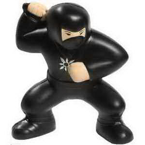 Ninja shape stress reliever.