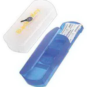 Bandage holder pillbox with