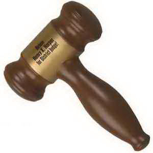 Gavel shape stress reliever;