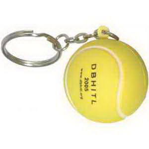 Tennis ball key chain.