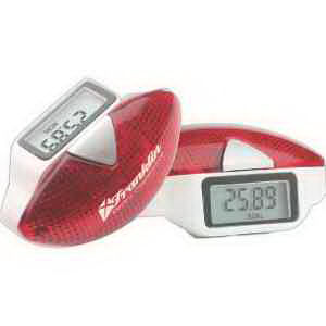 Multifunction pedometer with safety