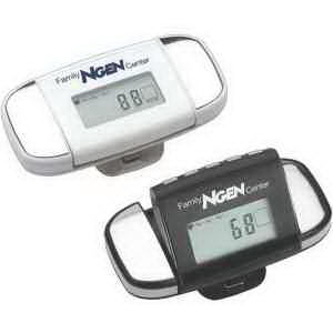 Multifunction pedometer with reader