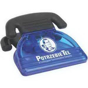 Telephone power clip with