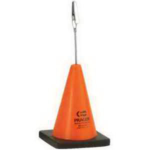 Construction cone shape stress