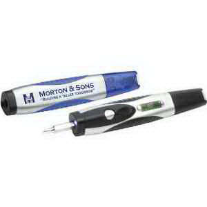 Level light screwdriver pen,