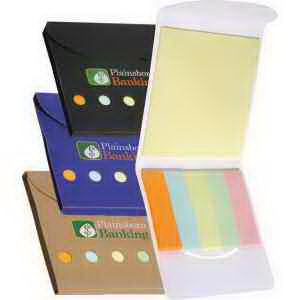 Sticky note wallet with