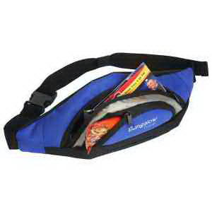 Waist pack made from