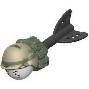 Military throw toy.